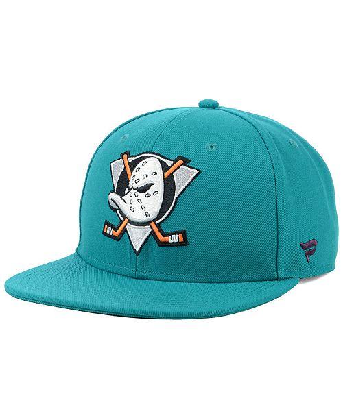 604874248204ab ... Authentic NHL Headwear Anaheim Ducks Mighty Ducks Collection Snapback  Cap ...