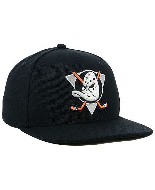 c2dc11193 ... Authentic NHL Headwear Anaheim Ducks Mighty Ducks Collection Fitted Cap  ...