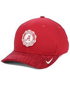 Nike Alabama Crimson Tide Rivalry Swooshflex Stretch Fitted Cap