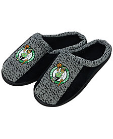 Forever Collectibles Boston Celtics Knit Cup Sole Slippers