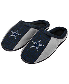 Forever Collectibles Dallas Cowboys Knit Cup Sole Slippers