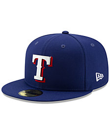 New Era Texas Rangers Metal & Thread 59FIFTY-FITTED Cap