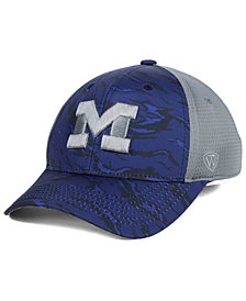 Top of the World Michigan Wolverines Tiger Camo Flex Stretch Fitted Cap