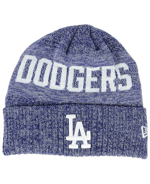 New Era Los Angeles Dodgers Crisp Color Cuff Knit Hat