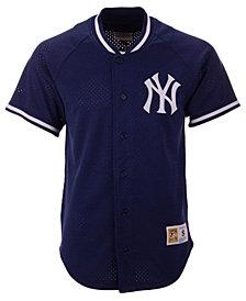 Mitchell & Ness Men's New York Yankees Pro Mesh Jersey