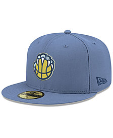 New Era Boys' Memphis Grizzlies Basic 59FIFTY Fitted Cap
