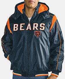G-III Sports Men's Chicago Bears Hot Read Player Front Zip Jacket