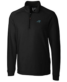 Cutter & Buck Men's Carolina Panthers Jackson Half-Zip Pullover