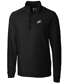 Cutter & Buck Men's Philadelphia Eagles Jackson Half-Zip Pullover