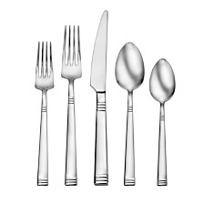 Living by Robinson® Nash 50-PC Flatware Set
