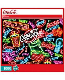 Coca Cola - Coca-Cola Neon - 1000 Piece Puzzle