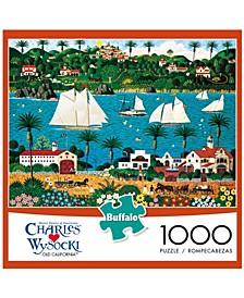 Charles Wysocki - Old California - 1000 Piece Puzzle
