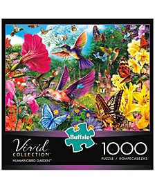 Vivid Collection - Hummingbird Garden- 1000 Pieces Puzzle