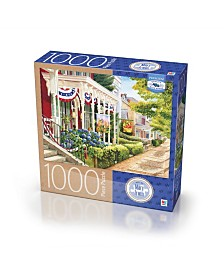 Premium Blue Board Jigsaw Puzzle - Mary Irwin - Charm of Ephata- 1000 Pieces