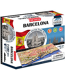 4D Cityscape Time Puzzle - Barcelona, Spain