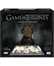 4D Cityscape Time Puzzle - Game of Thrones- A Guide to Westeros