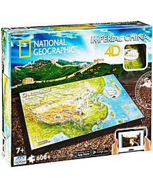 4D Cityscape Time Puzzle - National Geographic - Imperial China- 600 Pieces