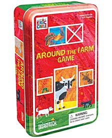 The World of Eric Carle - Around the Farm Game in a Tin