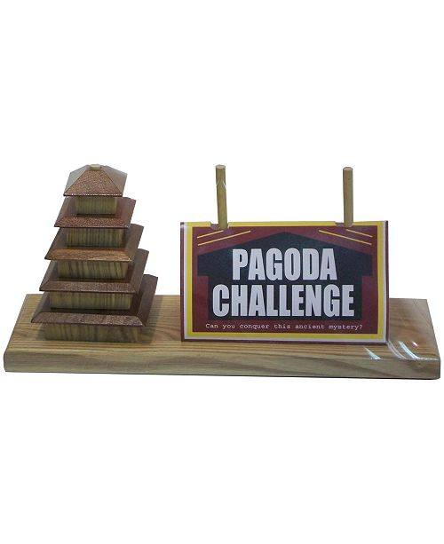 Square Root Pagoda Challenge Puzzle