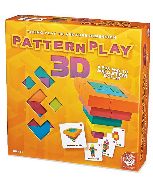 MindWare Pattern Play 3D Puzzle Game