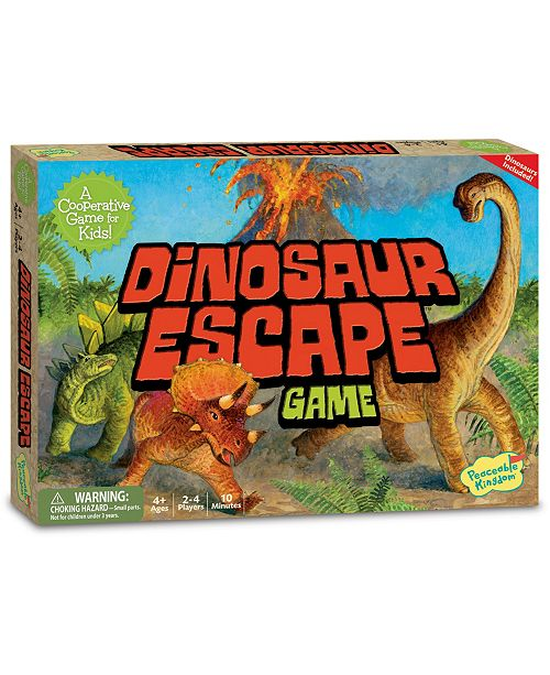 Peaceable Kingdom Dinosaur Escape Game - Dinosaur Toy