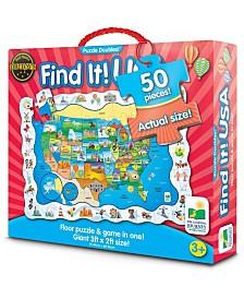 Puzzle Doubles! - Find It! USA- 50 Piece