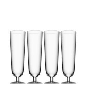 Beer Pils Glasses, Set of 4