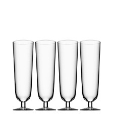 Beer Pils Glasses, Set of 4