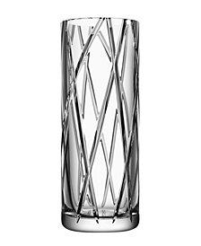 Orrefors Explicit Stripes Large Vase