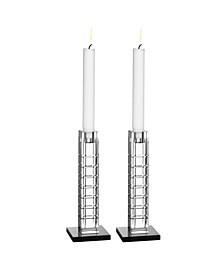 Street Candleholder Pair