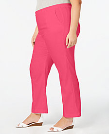 Alfred Dunner Plus Size Palm Coast Pants