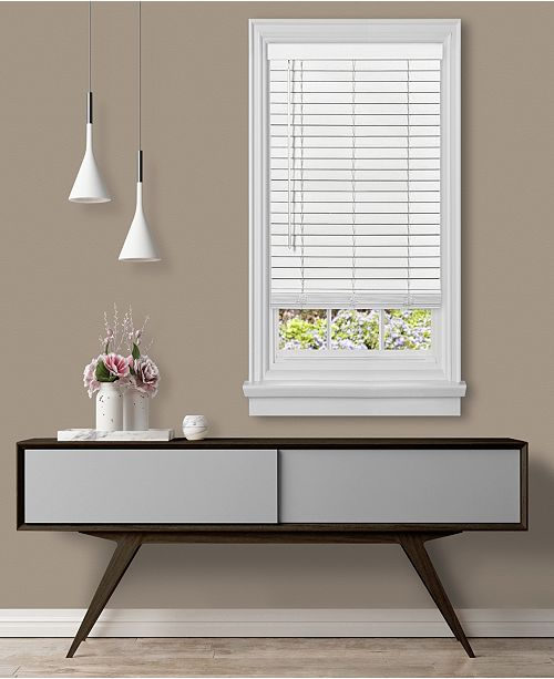 "Achim Cordless GII Madera Falsa 2"" Faux Wood Plantation Blind,  32x64"