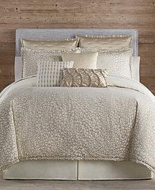 Eva Longoria Black Label Leopard Collection Queen Comforter Set