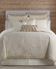 Eva Longoria Black Label Leopard Bedding Collection