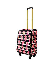 "Macbeth Collection Petunia 16"" Softside Under-Seat Rolling Suitcase"