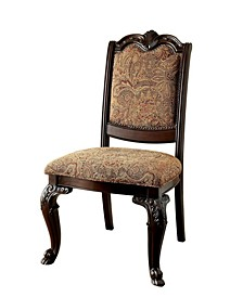 Ramsaran Brown Cherry Dining Chair (Set of 2)