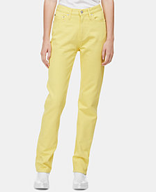 Calvin Klein Jeans CKJ 030 Cotton Straight-Leg Jeans