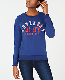 Superdry Logo-Appliqué Sweatshirt