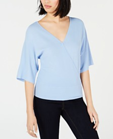 Bar III Back Cutout Sweater, Created for Macy's