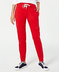 Tommy Hilfiger Sport Lace-Up Joggers, Created for Macy's