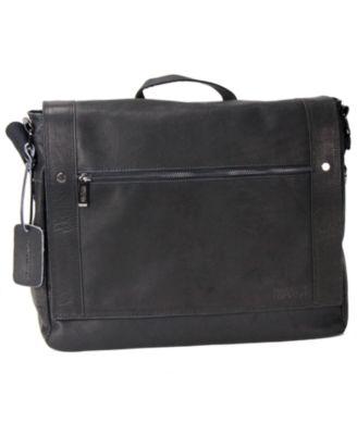 Colombian Leather Messenger Bag