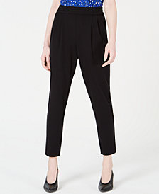 Maison Jules Pull-On Ankle Pants, Created for Macy's