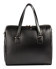 Céline Dion Collection Leather Triad Large Satchel
