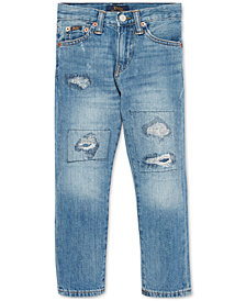 Polo Ralph Lauren Little Boys Sullivan Slim Distressed Cotton Jeans
