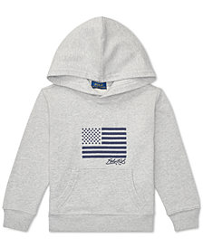 Polo Ralph Lauren Little Boys Embroidered Terry Cotton Hoodie