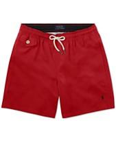 567c77dd18 Polo Ralph Lauren Big Boys Traveler Twill Swim Trunks