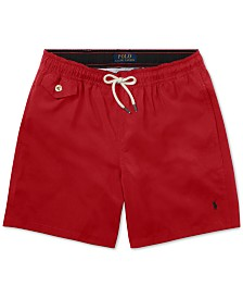 Polo Ralph Lauren Big Boys Traveler Twill Swim Trunks