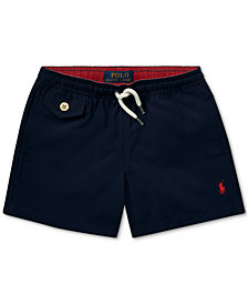 Polo Ralph Lauren Little Boys Traveler Twill Swim Trunks