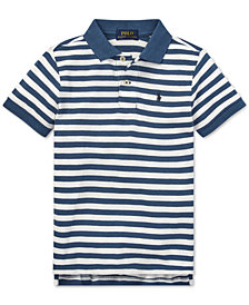 Polo Ralph Lauren Little Boys Featherweight Cotton Mesh Polo