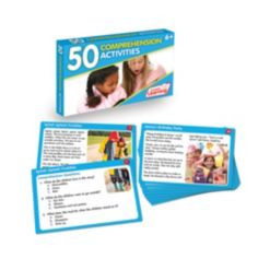 Junior Learning 50 Comprehension Activities Learning Set